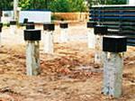 Свайные фундаменты и строительство