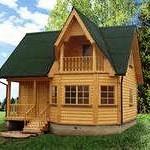 Достоинства и недостатки дачных домов из бруса