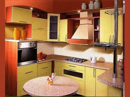 Идеальная компактная кухня на заказ