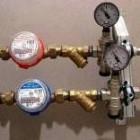 Утановка счётчиков на воду
