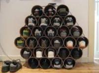 Хранение обуви – идеальное дизайнерское решение