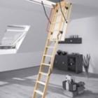 Лестница на чердак - ненужный предмет или элемент интерьера?
